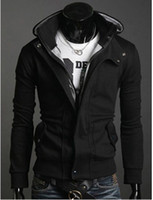 Wholesale 2012 Men s Korean style fashion napping cardigan slim Hoodies amp Sweatshirts casual outwear