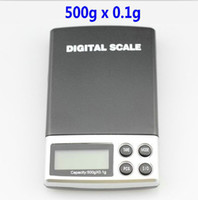 Wholesale 500g x g Mini Electronic Digital Jewelry Scale Balance Pocket Gram LCD Display