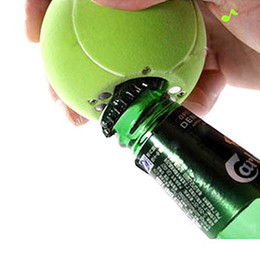 Wholesale Beer amp Soda Musical Bottle Opener Fridge Message Magnet Tennis Ball Shape