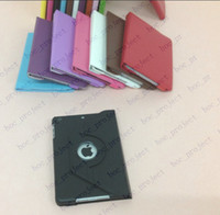 Wholesale 360 degree rotating leather case for apple ipad mini mini mini without retail package