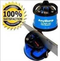 Wholesale AnySharp Kitchen safety Secure Knife Sharpener Suction Chef Pad Any Sharp Random color