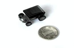 100pcs lot Worlds Smallest Solar Power Racing Car Mini solar toys solar energy toys EMSFree shipping