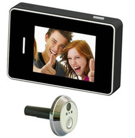 Wholesale 2 Inch Door Peephole Camera System DVR Wired Video Camera Degree View