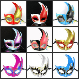 Women Sexy Hallowmas Venetian mask masquerade masks with flower feather mask dance party mask