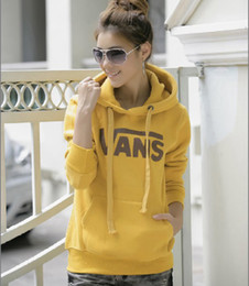 Wholesale Autumn and Winter New Korean Fleece Hooded Letter Casual Hoody