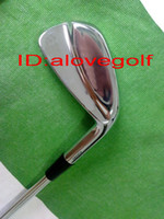 Wholesale 2012 New model golf clubs golf irons Pw with steel shaft high quality