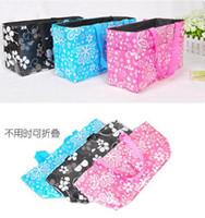 Polka Dot baby diaper holder - Baby Diaper Nappy Bags Bottle Holder Mummy Sets Handbag Carrier Storage Bag Organizer cm