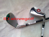 Wholesale hot selling golf clubs new golf clubs model Pw Sw Aw with stiff Graphite shafts free ship