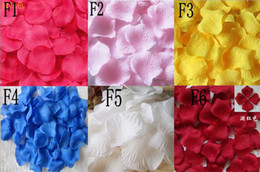 2000pieces simulation petals rose petals wholesale wedding throwing petals marriage bed flowers