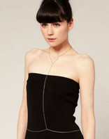 Wholesale New Arrival Womens Gold Body Chain Christmas Body Necklaces Chains Fashion Jewelry