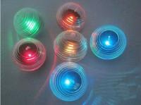 achat en gros de étang a mené la lumière de la balle-LED 2pcs solaire flottante Colorful boule étang LED Pool lumière, Garden Path Light Light Christmas