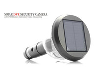 Wholesale Solar Security DVR Camera with PIR Motion Detection Video Recording support G H155