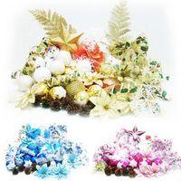 Wholesale Christmas Ornaments Decorations Sets Pendants for Christmas Trees Colors pics Set