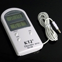 Wholesale KTJ TA138 Thermo meter LCD Digital Thermometer With Temperature Sensor Probe