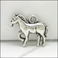 Jewelry Findings antique horse bracelet - Charms Antique Plated Silver Alloy Horse Pendant Fit Bracelet amp Necklace DIY Jewelry