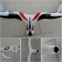 Wholesale PINARELLO MOST Handlebar Road Racing Handle Bar Bicycle Carbon Road Handle Bar Stem intergrated