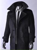 wool fabric coat - Men down coats wool fabric coats men coats hot sale Canada Sweden Norway business coats