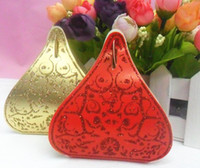 Favor Boxes boxes - Hershey chocolate box European Hot Shinning Water Droplets Beautiful Candy Box wedding Favor Box