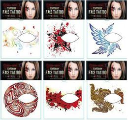 Wholesale 2013 new Xmas halloween stickers Temporary Tattoos eye shadow stickers Body Tattoos
