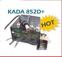 Cheap SMD KADA 852D+ Soldering Station Rework SMT Welder 2 in 1 welding Station hot Air & Iron Hot air gun