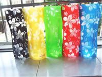 PVC flower vases - novelty PVC vase foldable vase folding flower vase