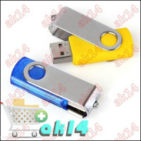Wholesale Rotating GB GB Cool Android Robot USB Flash Drive Memory Stick Pen Drive Thumbdrives Pend AK14