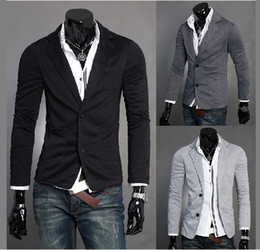 Wholesale Mens casual knit suit X01
