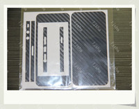 Wholesale Front and Rear FULL BODY Wrap Carbon Fiber Vinyl Sticker Protector Skin Cover for Apple Iphone G S