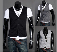 Wholesale Mens slim Cultivate one s moralit Vest M11