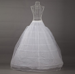 Wholesale Beautiful Bridal Gown Petticoat Petticoats Underskirt A Lined For Dress And Gowns Hoops