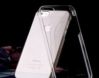 Wholesale Hot Selling Transparency Clear Crystal Hard Back cover case for iPhone G S th