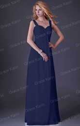 Wholesale Grace Karin Sexy V neck High end Party Dresses Strap Ball Gown Evening Prom Dress Formal CL3466