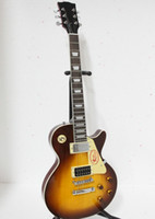 Wholesale Custom Jimmy Page Number Two VOS Electric guitar Honey burst Flame