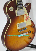 Wholesale Musical instruments New Arrival Honey Burst Solid Electric Guitar High Quality Cheap