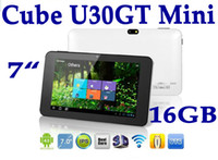 Wholesale Cube MINI u30gt Capacitive quot IPS rk3066 dual core GHz Android HDMI dual camera Tablet PC