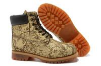 Men Designer Boots Work Boot Cowhide Leather Brown AAAA New ...