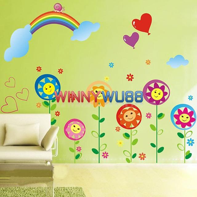 Wholesale Wall Decor - Buy Nursery Wall Decor Baby Room Removable ...