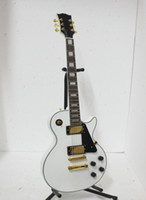 Solid Body 6 Strings Mahogany White Custom Electric Guitar Black Custom Electric Guitar Fast delivery guitars from china