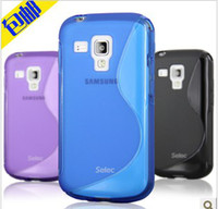 Plastic For Samsung kakacola New S line soft TPU Gel Skin Case For Samsung GALAXY SIII S3 Mini i8190 from kakacola shop