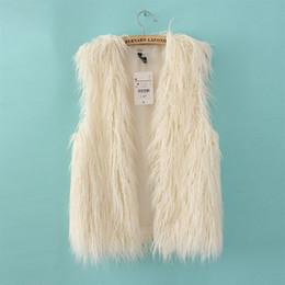 Wholesale New Lady Korea Style Women Faux Fur Vest Shawl Fashion Apparel Adorable Short Warm vests Kb