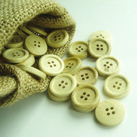 Wholesale Traditional culture classic wooden garment button ship free