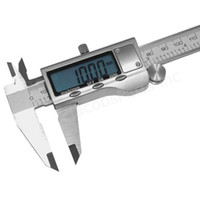 Wholesale 6 quot mm Stainless Steel Electronic Digital Vernier Caliper Micrometer Guage
