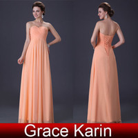 Reference Images grace karin - Grace Karin Strapless Empire Long Lace Up Party Gown Wedding Evening Bridesmaid Dress CL3409