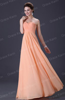 Wholesale Grace Karin Popular Comely A line Sweetheart Evening Dress Party Gowns Lace Up Ball Prom Dresses CL3409