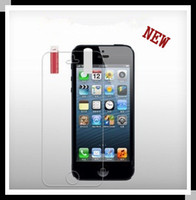 Wholesale 1000pcs for iPhone5 Screen Guard Clear Glossy Screen Guard Film Protector for iPhone G iPhone5