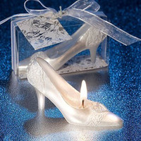 Wholesale Wedding Party Crystal Shoes Candle With Flavor European Romantic Creative Christmas Gift