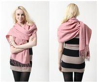Plain Dyed wholesale cashmere scarves - winter solid color cashmere scarf cotton scarf solid cotton cashmere scarf