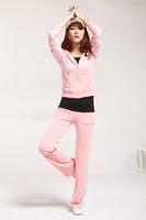 Women Long Sleeve Regular Hot fashion Sweat-Suit for Femail,Yoga wear,Women's Tracksuits in Pink,Velvet Suit for Korean trend