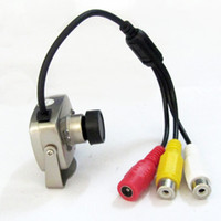ccd mini digital video camera - Mini Pinhole Digital CCD Color Security Surveillance Video Camera CV AC QQTJJ1260