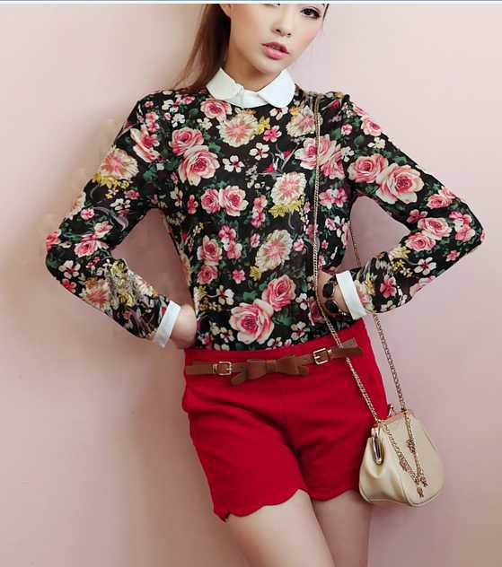 Flower Shirt Womens | Is Shirt